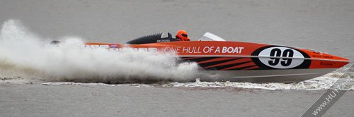 Canon EF400mm F2.8L USM: Shooting Power Boat Racing